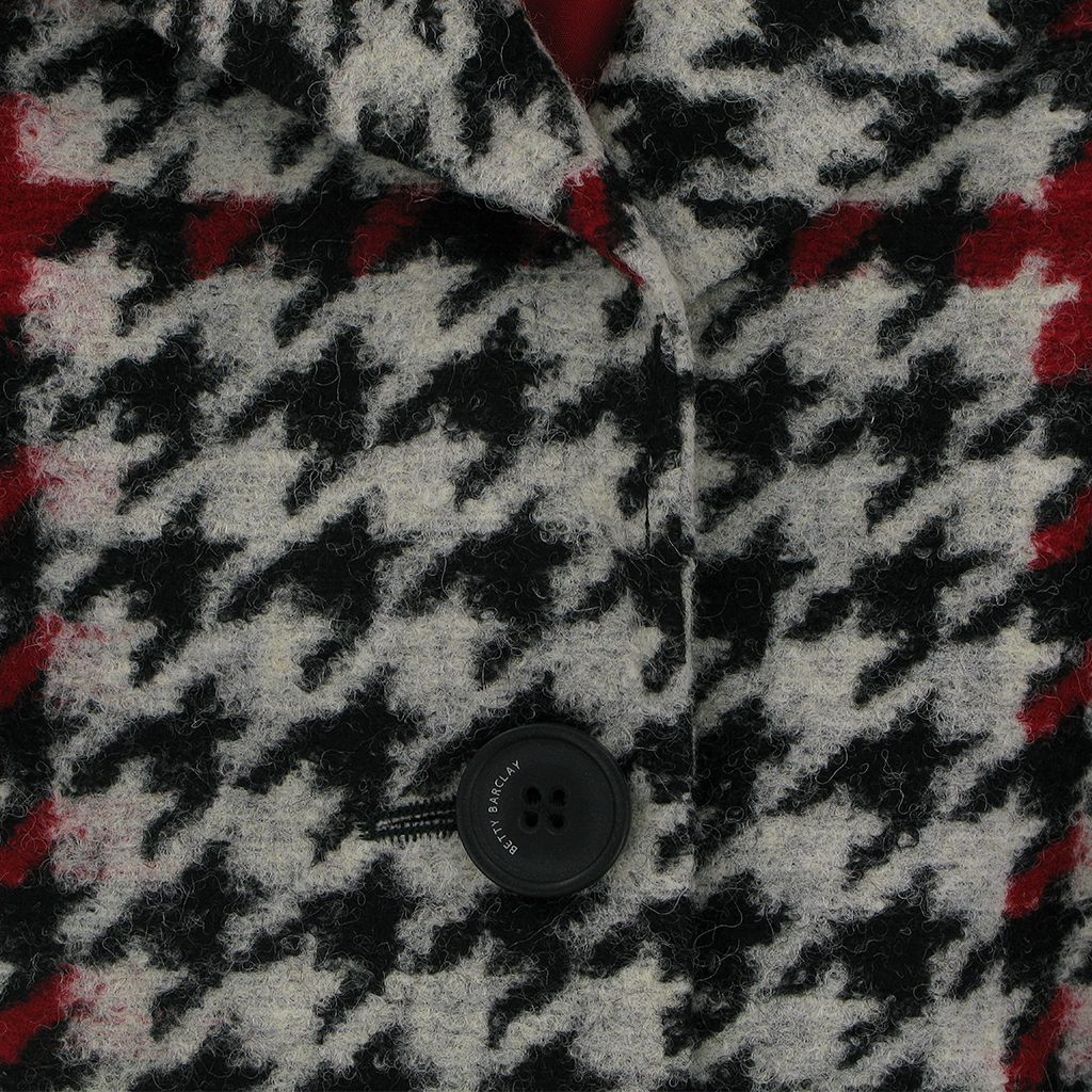 Autumn 2018 Betty Barclay Houndstooth Coat - Multi coloured