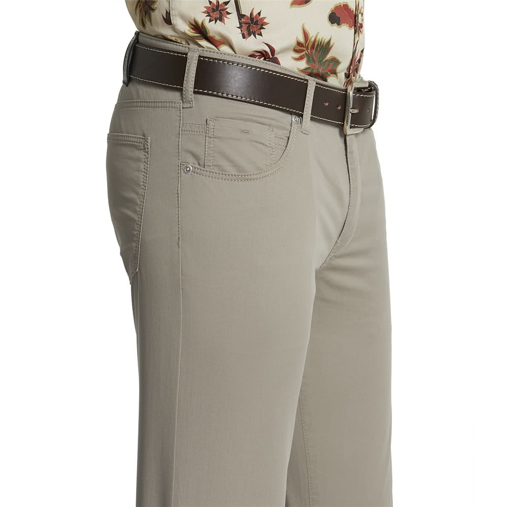M5 By Meyer Slim Cotton Twill - Taupe 6140 34