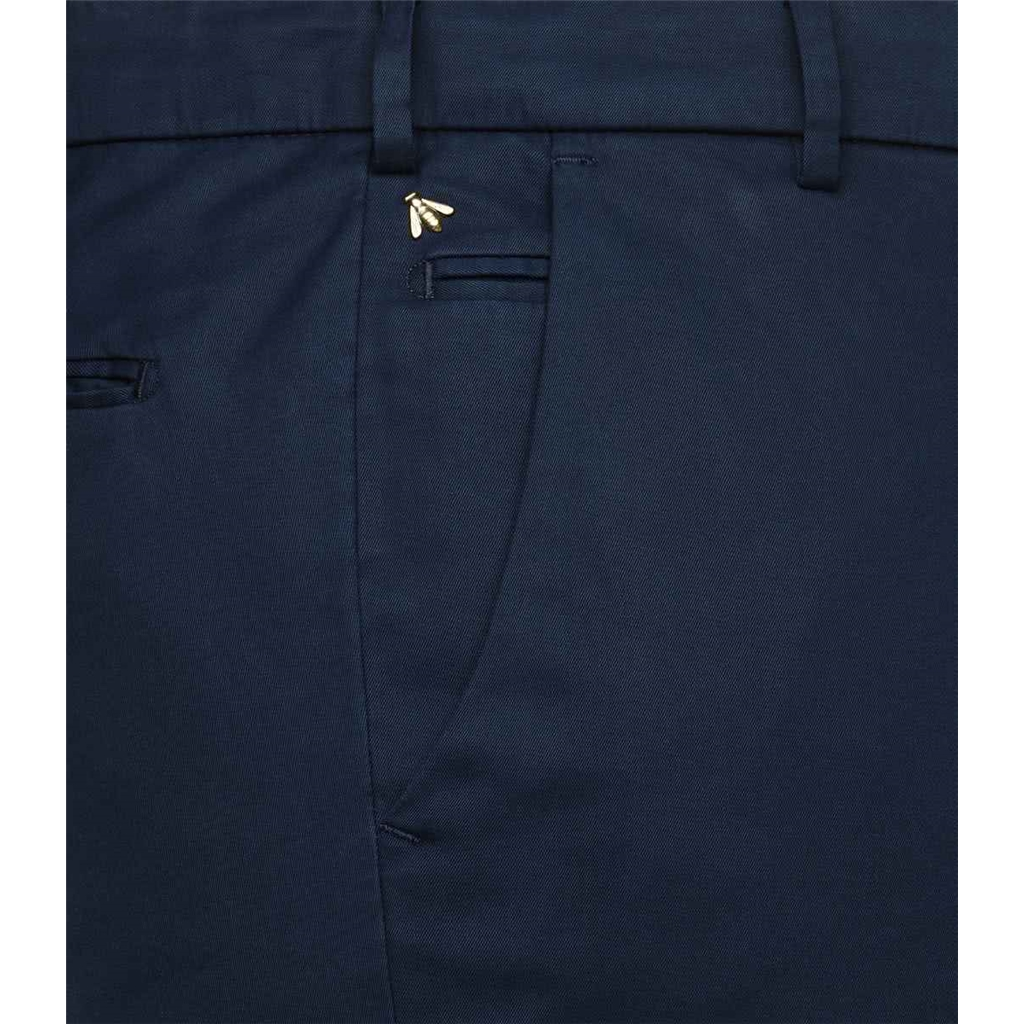 NEW 2021 Meyer Chino Silk Deluxe - Navy - Bonn 8063 18 - Continental Sizing