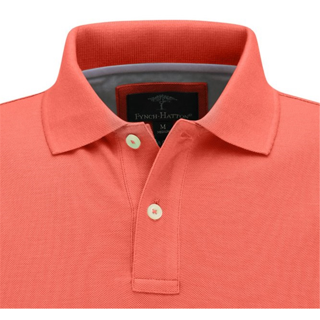 Copy of Fynch Hatton Supima Cotton Polo Shirt - Lobster