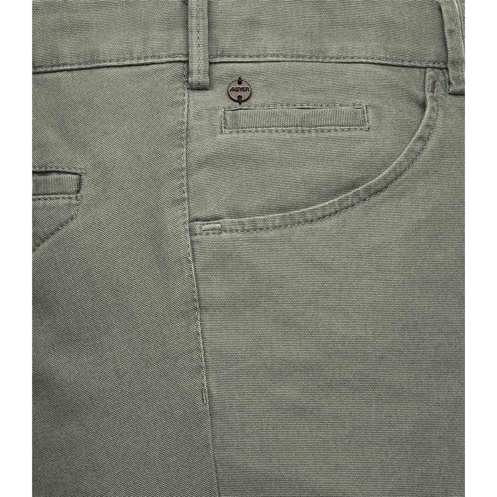 New 2021 Meyer Cotton Trouser - Olive - Dublin 3132 27 - Continental Sizing