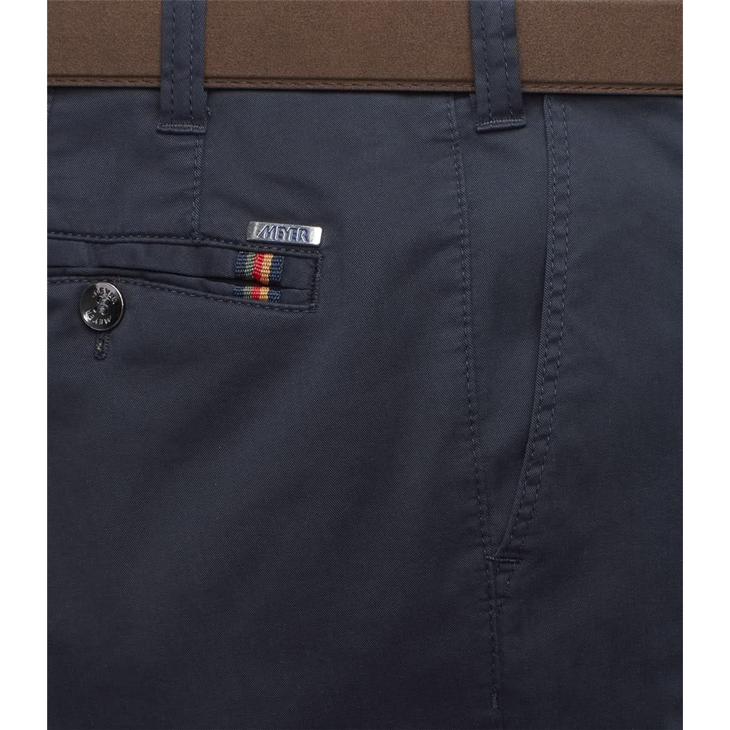 New 2021 Meyer Summer Cotton Trouser - Navy Oslo 3001 20 - Continental Sizing