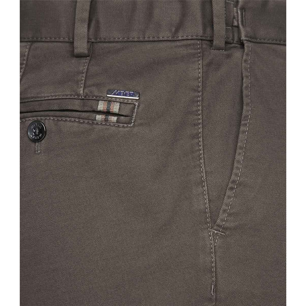 New Autumn 2021 Meyer Cotton Trousers - Mud - Oslo 5552 33 - Continental Sizing