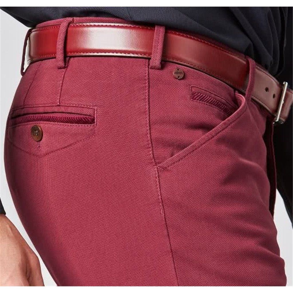 New Autumn 2021 Meyer Cotton Trousers - Red -  Chicago 5580 56 - UK Inch Sizing