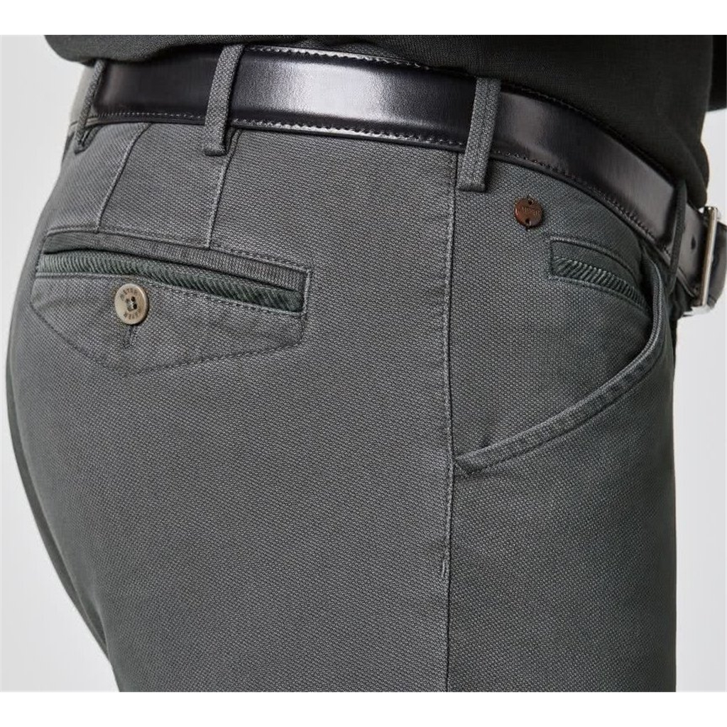 New Autumn 2021 Meyer Cotton Trousers - Grey -  Chicago 5580 07 - UK Inch Sizing