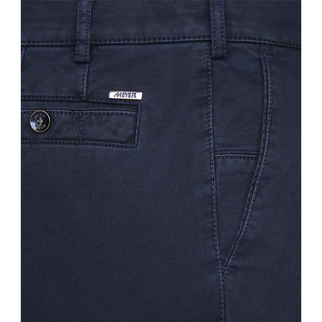 Meyer Cotton Trousers - Blue -  New York 5548 18