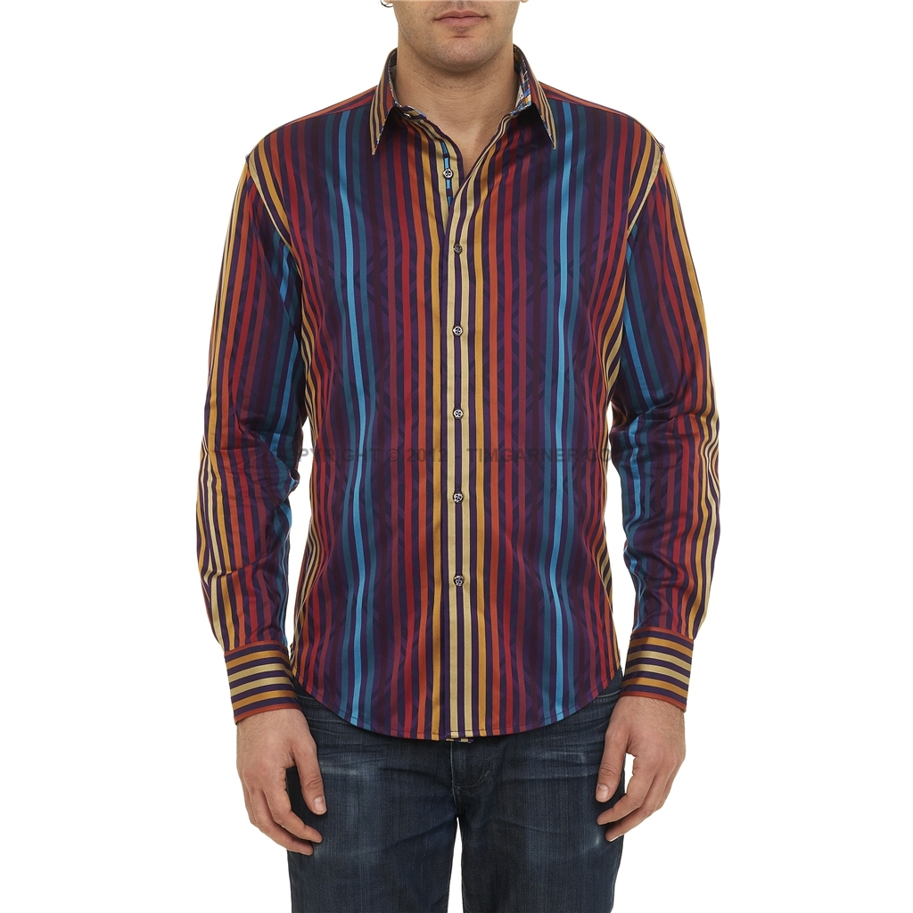 Size guide for Robert graham tall shirts