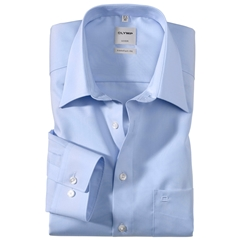 Olymp Comfort Fit Shirt - Blue - 0250 64 15