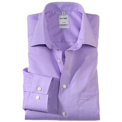 Olymp Comfort Fit Shirt - Lilac Chambray