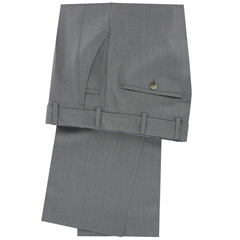 New 2015 Meyer Trouser Luxury Italian Cloth- Silver - Limited Edition