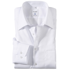 Olymp Regular Fit Shirt - White