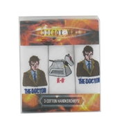 Dr Who Handkerchiefs - Doctor  and K-9