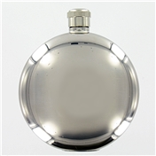 Round Hip Flask 5oz (FL8)- Stainless Steel Excellent Quality Hip Flask