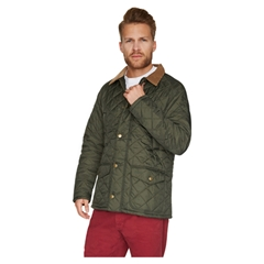 New for 2015 Barbour Canterdale Quilt Jacket - Olive