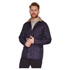 New for 2015 Barbour Canterdale Quilt Jacket - Navy