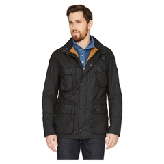 New for 2015 Barbour Selkirk Wax Jacket - Black