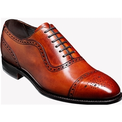Barker Shoes Style: Warrington - Rosewood Calf