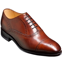 Barker Shoes Style: Newcastle Walnut Calf