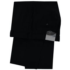 Meyer Classic Stretch Gabardine Trouser - Black