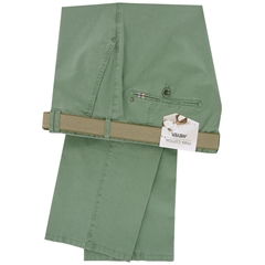 New 2015 Meyer Pima Cotton Trouser - Pale Green - Limited Edition