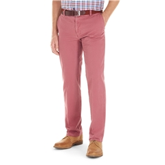 Gurteen Summer Cotton Trouser - Raspberry - Longford 1213 060