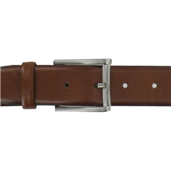 Monti Leather Dress Belt - Cognac