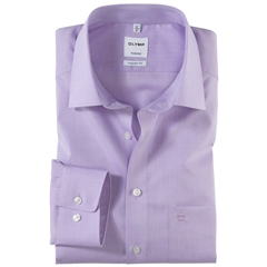 Olymp Regular Fit Shirt - Lilac Chambray