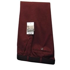 Meyer Trousers Bordeaux Luxury Cotton - Online Exclusive - Special Purchase