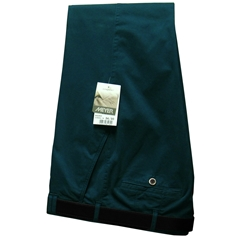 Meyer Trousers Petrol Luxury Cotton - Online Exclusive - Special Purchase