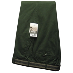 Meyer Trousers Bottle Green Luxury Cotton - Online Exclusive - Special Purchase