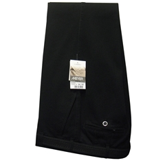 Meyer Trousers Black Luxury Cotton - Online Exclusive - Special Purchase