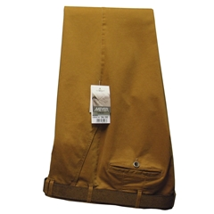 Meyer Trousers  Luxury Tan Cotton & Cashmere - Online Exclusive - Special Purchase