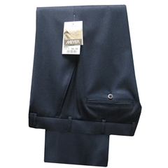 Meyer Trousers Blue Wool Gabardine - Online Exclusive - Special Purchase