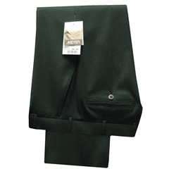 Meyer Trousers Bottle Green Wool Gabardine - Online Exclusive - Special Purchase