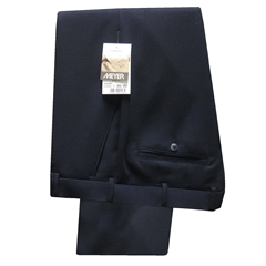 Meyer Trousers Navy Premium Wool - Online Exclusive - Special Purchase