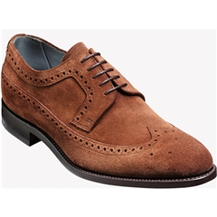 Barker Shoes Style: Woodbridge Castagnia Suede