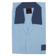 Extra Long Men's Pyjamas - Sky Blue