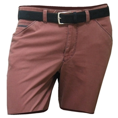 Meyer Cotton Shorts - Raspberry - 34 and 36 waist only