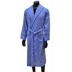 Lightweight Men's Dressing Gown - Blue