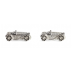 Swarovski Car Cufflinks