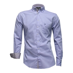 New 2017 Fynch-Hatton Shirt - Plain Lilac Fine Oxford