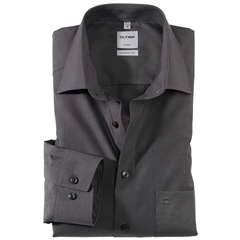 Olymp Comfort Fit Shirt - Charcoal Chambray