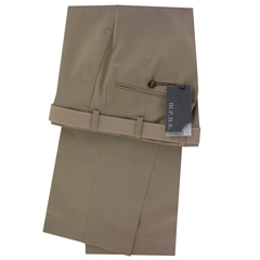 M.E.N.S. Dress wool stretch trouser - Beige
