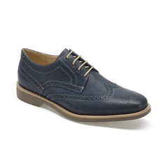 Anatomic & Co Tucano Brogue Shoes - Vintage Navy