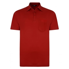 Gabicci Half Sleeved Jersey Shirt - Red