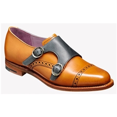 New 2018 Barker Ladies Shoes Style: Charlotte - Cedar / Blue Calf