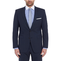 Digel Suit - Modern Fit Performance Wool Mix - Power Suit - Dark Blue