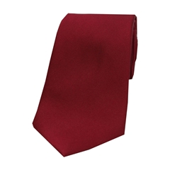 The Silk Tie Company - Wine - 100% Satin Silk Tie