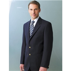 Oxford Classic Fit Navy Pure Wool Patch Pocket Blazer