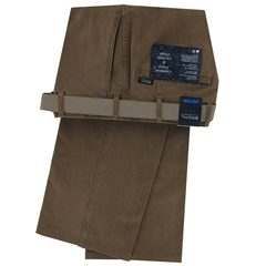 New 2018 Bruhl Luxury Cotton Trouser - Montana Brown Sand - 182310 540